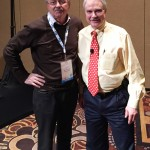 Dr. Norsworthy and Stephan Porostocky at Western Veterinary Conference in Las Vegas